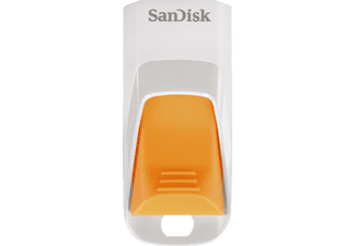 SANDISK 8 GB Cruzer Edge USB 2.0 Weiß/Orange