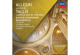 The/gabrieli Consort/mccreesh/+ Sixteen - Miserere/Lamentations Of Jeremiah/+ [CD]