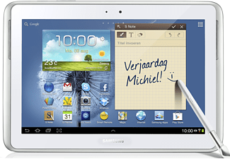 SAMSUNG Galaxy Note 10.1 WiFi 16GB Wit