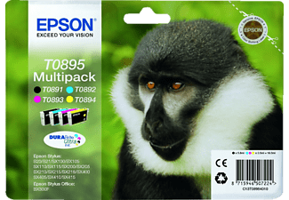 EPSON T0895 Multipack Black+Colour C13T08954010