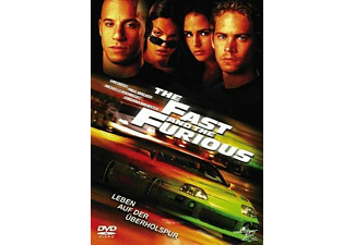 The Fast and the Furious Action DVD