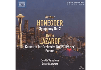 Seattle Symphony Orchestra - Symphony No. 2 / Concerto for Orchestra No. 2 / Poema - (CD)