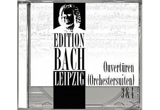 Edition Bach Leipzig - Ouvertüren (Orchestersuiten) 3 & 4 [CD]