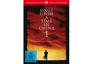 Once Upon a Time in China - Trilogy - (DVD)