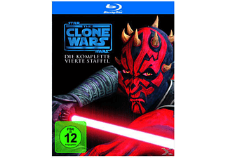 Star Wars: The Clone Wars - Die komplette 4. Staffel Animation/Zeichentrick Blu-ray