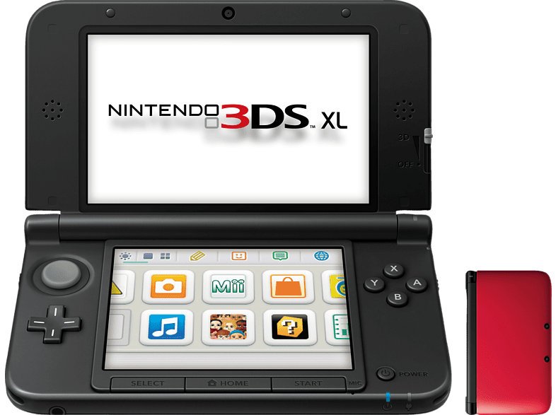 NINTENDO 3DS XL Red and Black gaming φορητές κονσόλες κονσόλες 2ds  3ds