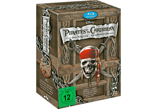 Pirates of the Caribbean 1-4 [Blu-ray]