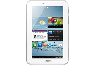 SAMSUNG Galaxy Tab 2 7.0 WiFi 8GB white mit 7 Zoll, Android 4.0, Weiß