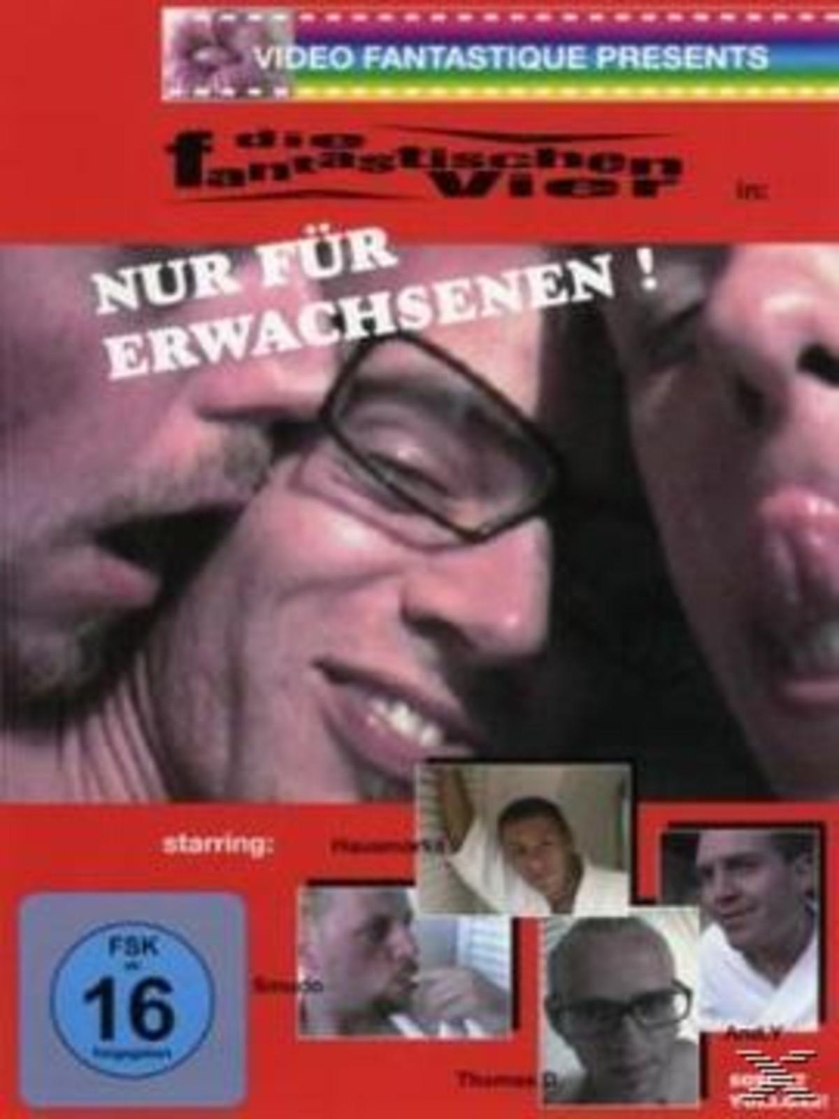 Die Fantastischen Vier - NUR FÜR ERWACHSENEN! - (DVD)