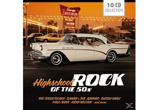 Various - Highschool Rock Of The 50's [CD]