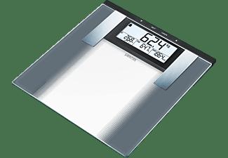 Sanitas SBG 21 Analyse-personenweegschaal 180 kg Grijs, Glas