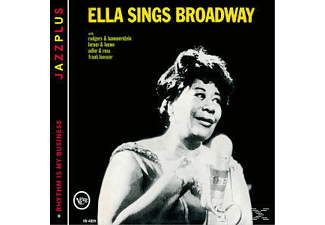 Ella Fitzgerald - Ella Sings Broadway/Rhythm Is My Business [CD]