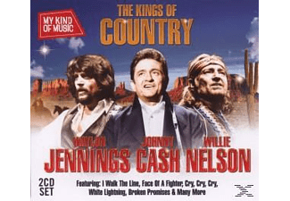 Johnny Cash;Waylon Jennings;Willie Nelson - Kings Of Country-My Kind Of Music [CD]