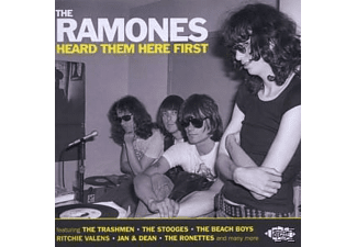 VARIOUS - The Ramones Heard Them Here First [CD]
