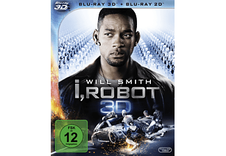 i, Robot Action Blu-ray 3D