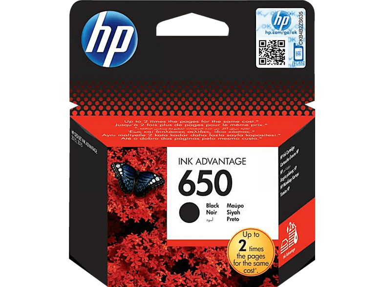 HEWLETT PACKARD 650 Black - (CZ101AE) laptop  tablet  computing  εκτύπωση   μελάνια μελάνια  toner computing   tablets