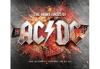 Various - The Many Faces Of Ac/Dc - The Ultimate Tribute To Ac/Dc [CD]