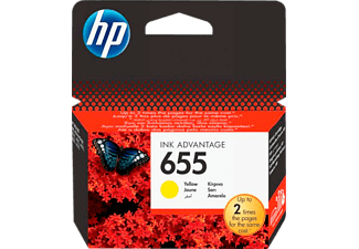 HP HP655 Yellow - (CZ112AE)