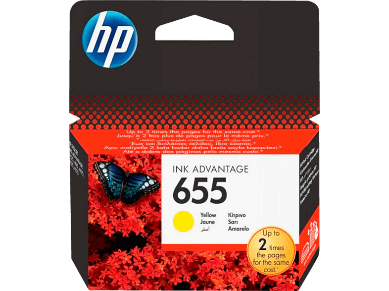 HEWLETT PACKARD 655 Yellow - (CZ112AE)