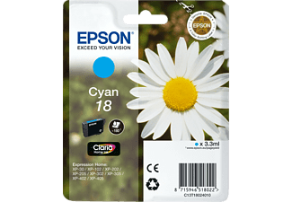 EPSON T1802 Cyaan (C13T18024010)