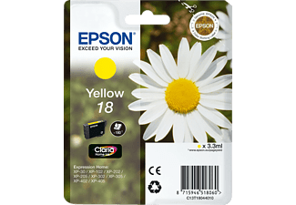 EPSON Yellow 18 Claria Home Ink C13T18044010