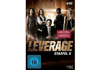 LEVERAGE - STAFFEL 2 [DVD]
