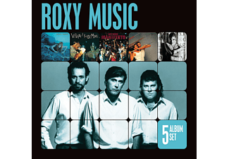 Roxy Music - 5 Album Set - (CD)
