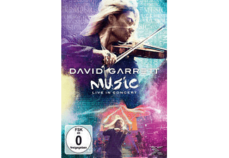 David Garrett - MUSIC LIVE IN CONCERT [Klassik Crossover, Blu-ray]