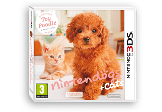 cats: Toy Poodle Nintendo 3DS