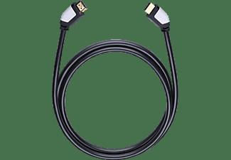 oehlbach 42460 shape magic hs hdmi kabel 1 2 m hdmi kabel schwarz kaufen saturn. Black Bedroom Furniture Sets. Home Design Ideas