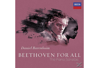 Daniel Barenboim - Beethoven For All - The Piano Sonatas [CD]