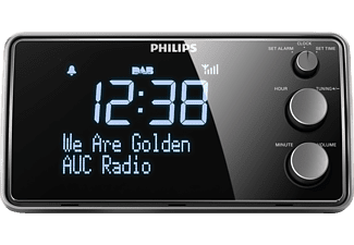 PHILIPS AJB3552 Radiowecker (Digital Radio, UKW, Schwarz)