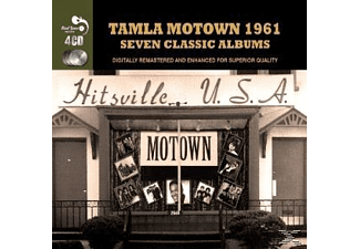 VARIOUS - Tamla Mowtown 1961 - Seven Classic Albums - (CD)