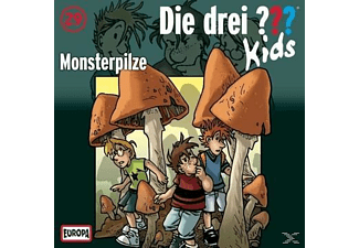 Die drei ??? Kids 29: Monsterpilze - (CD)