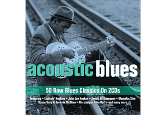 VARIOUS - Accoustic Blues - (CD)