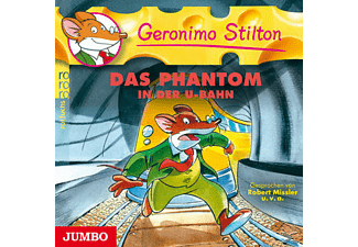 Geronimo Stilton - Geronimo Stilton - Das Phantom in der U-Bahn - (CD)