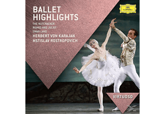 Berliner Philharmoniker, Boston Symphony Orchestra, Gothenburg Symphony Orchestra, Russian National Orchestra, Royal Conbertgebouw Orchestra, Orchestra Of The Royal Opera House - Ballett Highlights [CD]