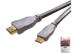 VIVANCO HDMI Mini kabel, guld, 1.5m