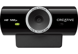 CREATIVE 73VF077000001 Live! Cam Sync HD, Webcam, Schwarz