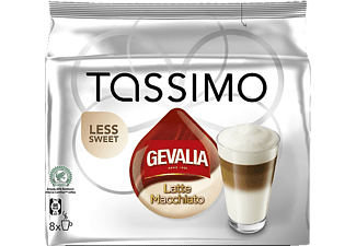 TASSIMO Latte Macchiato Less Sweet - 8 portioner