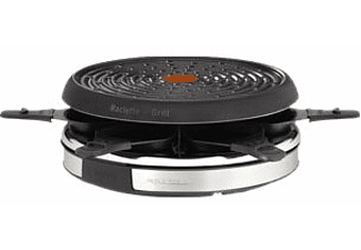 tefal inox design re1278 d co 6 raclette grill zwart bestel online bij media markt. Black Bedroom Furniture Sets. Home Design Ideas
