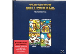 Steve Miller Band - Your Saving Grace (Remaster) [CD]