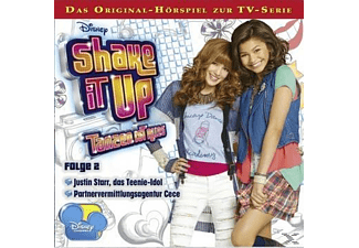 Disney: Shake it up - Tanzen ist alles 02: Das Teenie-Idol / Partnervermittlungsagentur Cece - (CD)