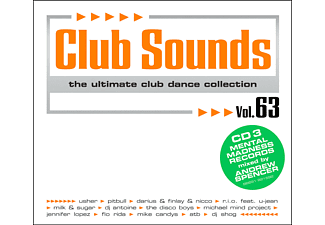 Various - CLUB SOUNDS 63 - (CD)