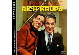 Gene Krupa, Buddy Rich - Burnin' Beat (+The Original Drum Battle) [CD]