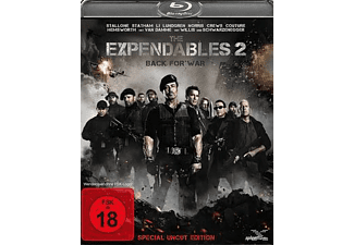 The Expendables 2 Special Edition Action Blu-ray