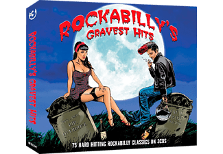 Various - Rockabilly's Gravest Hits-75 Classics [Box-Set] - (CD)