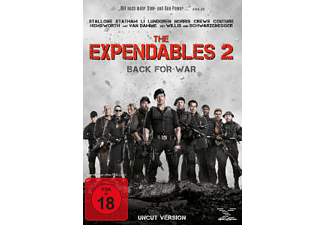 The Expendables 2 (Uncut Edition) Action DVD