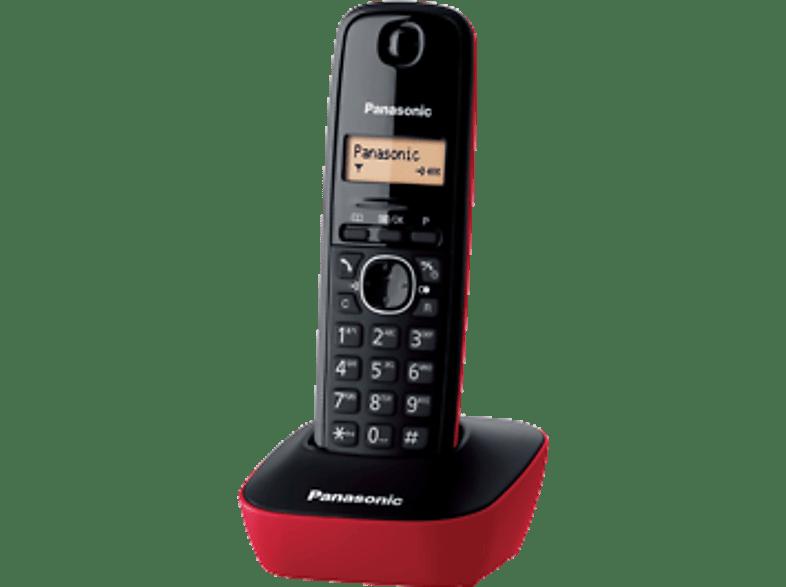 PANASONIC KX-TG1611 Red τηλεφωνία   πλοήγηση   offline σταθερά τηλέφωνα ασύρματα τηλέφωνα βιβλία για το