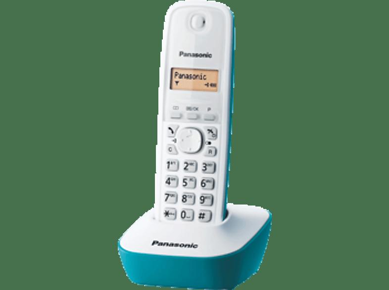 PANASONIC KX-TG1611 Light Blue τηλεφωνία   πλοήγηση   offline σταθερά τηλέφωνα ασύρματα τηλέφωνα βιβλία για το